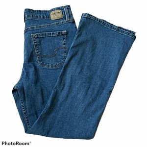 LEVIS   Signature Jeans Mid Rise Bootcut 12 Short